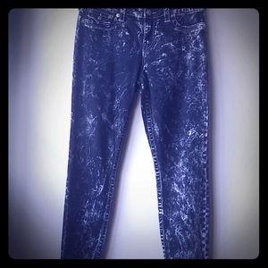 True Religion Acid Wash Jeans